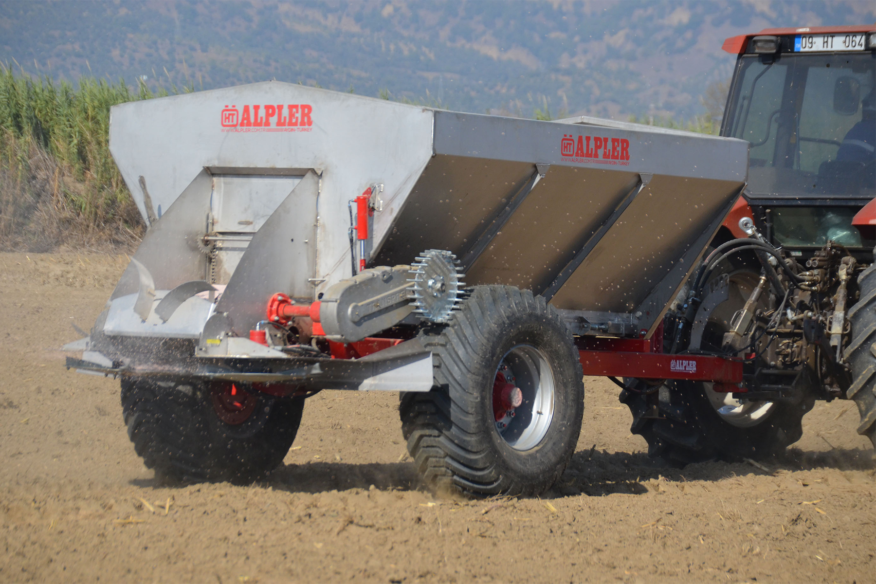 Fertilizer and Lime Spreaders