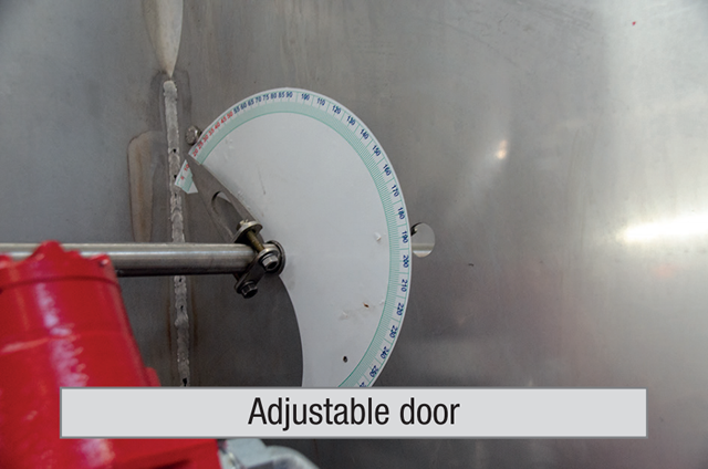 Adjustable Door
