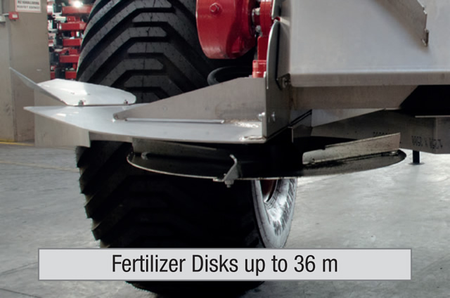 Fertilizer Disks up to 36 m