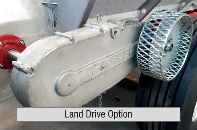 Land Drive Option